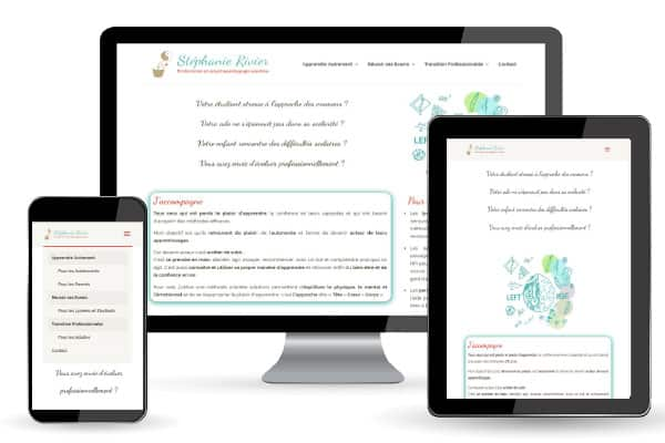 exemple creation site développement personnel